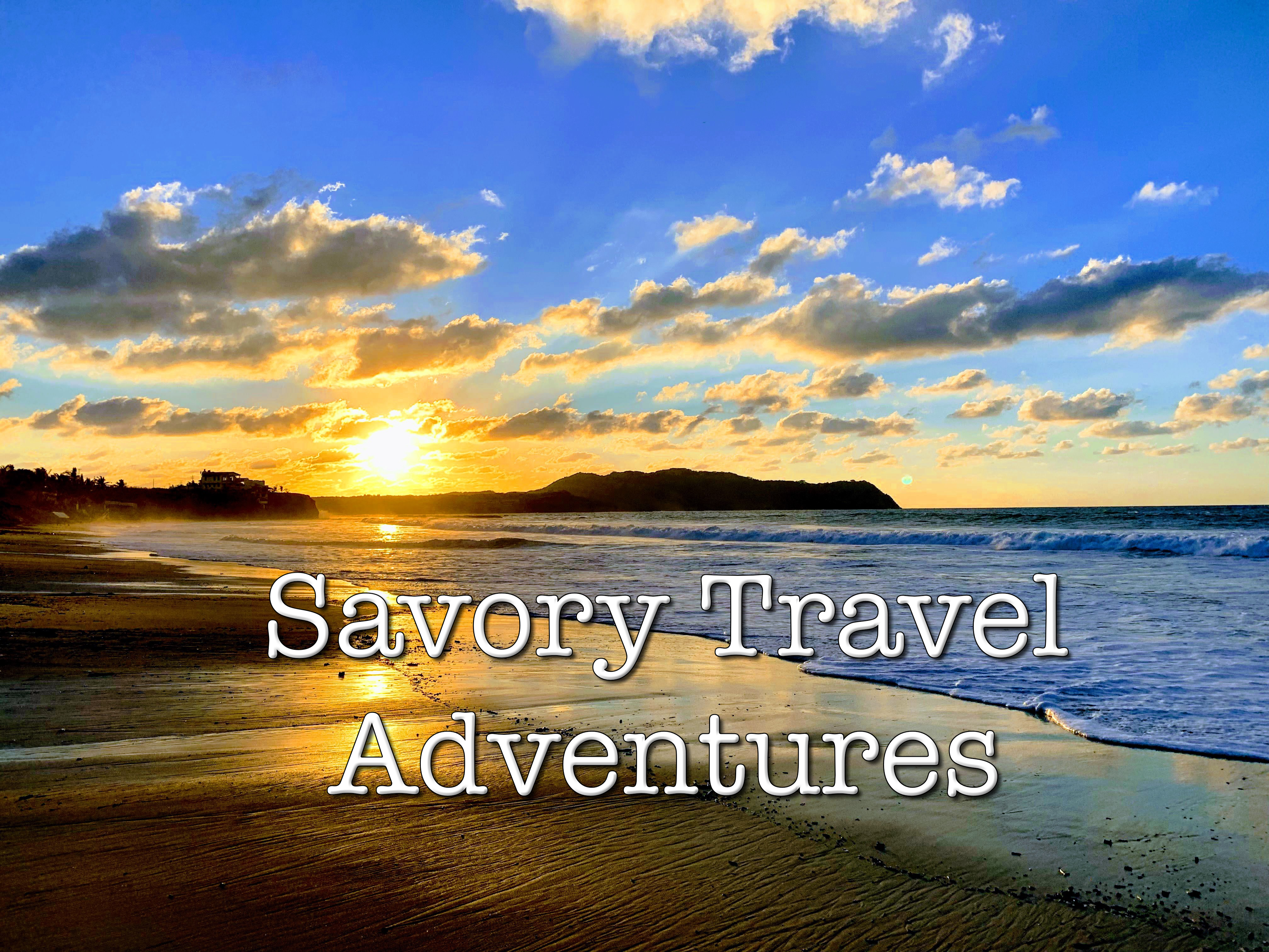 Savory Travel Adventures by Steven Shomler