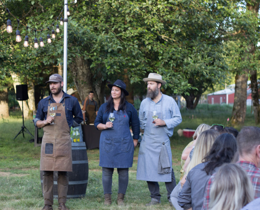 Wallow & Root Farm Dinner with Tournant and Piccone's Corner Photo by Steven Shomler