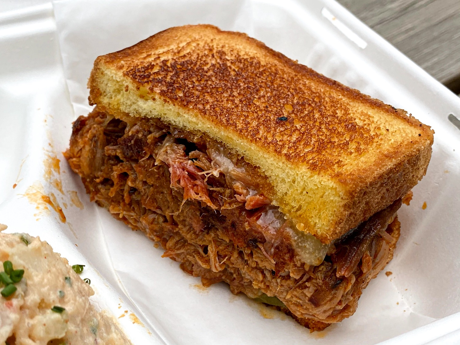 The Porky Melt at The Dinner Bell Barbecue Food Cart – A Culinary Treasure! Culinary Treasure Network Steven Shomler