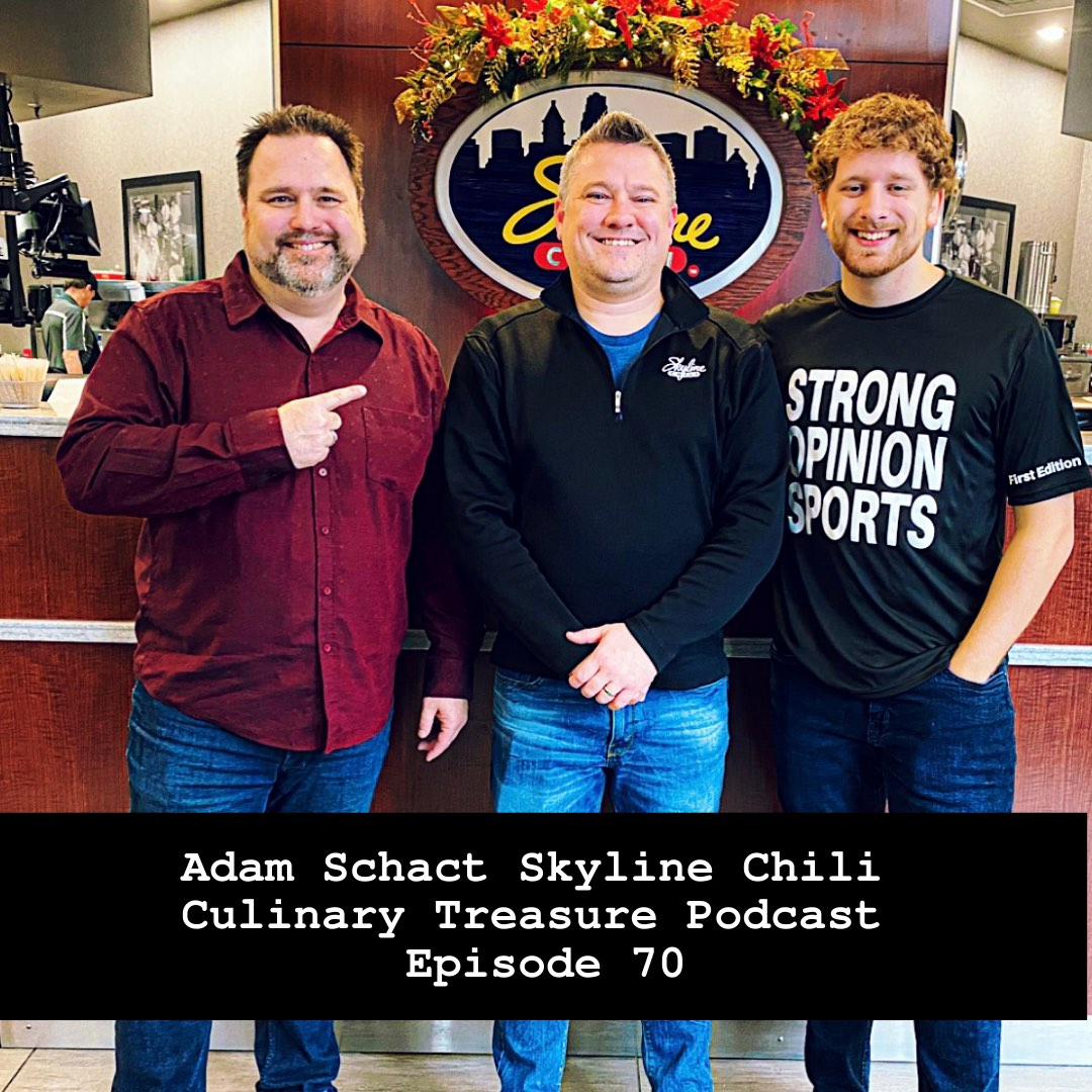 Adam Schact Skyline Chili – Culinary Treasure Show Season 1 Episode 2