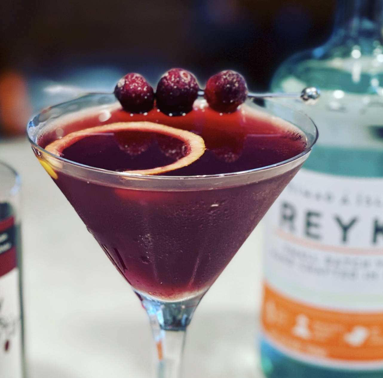 The Pacific Drift - An Exquisite Cranberry Martini By Steven Shomler The Culinary Treasure Network