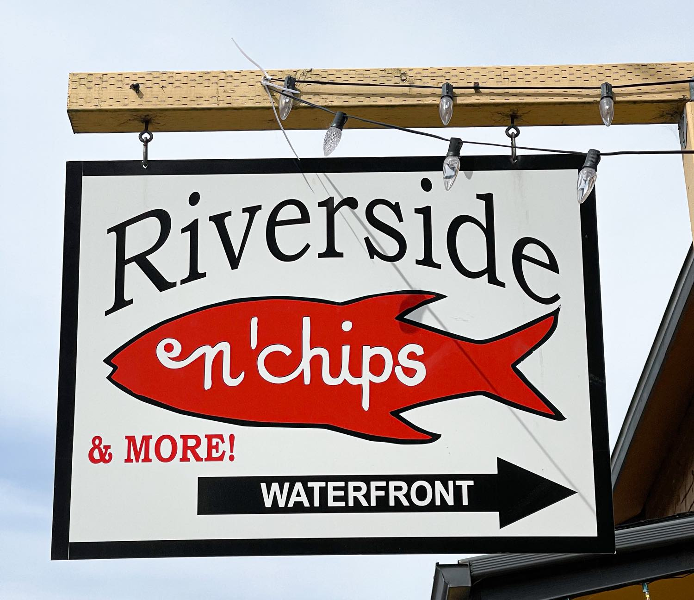 Riverside Fish & Chips Nehalem, Oregon on the Oregon Coast Culinary Treasure Network Steven Shomler
