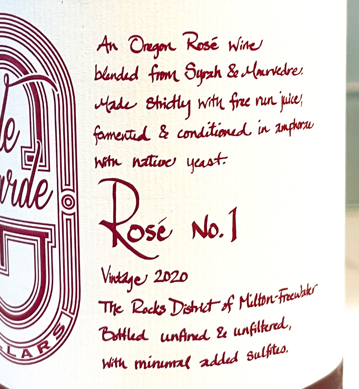 Rose No. 1 From deGarde Cellars – The Review & The 411 The Noteworthy Wine Journal